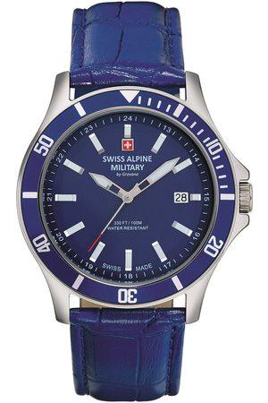 Swiss Alpine Military Reloj analógico 70.221.535, Quartz, 42mm, 10ATM para hombre
