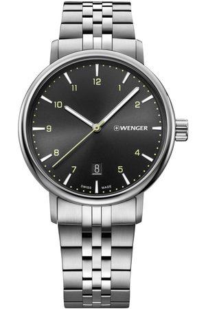 Wenger Reloj analógico 01.1731.120, Quartz, 40mm, 10ATM para hombre