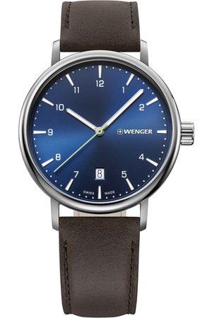 Wenger Reloj analógico 01.1731.116, Quartz, 40mm, 10ATM para hombre