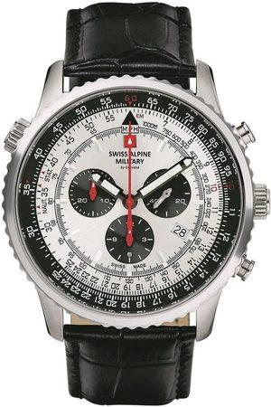 Swiss Alpine Military Reloj analógico 70.789.538, Quartz, 46mm, 10ATM para hombre