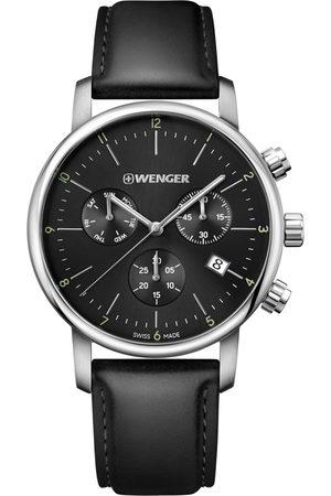 Wenger Reloj analógico 01.1743.102, Quartz, 44mm, 10ATM para hombre
