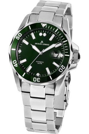Jacques Lemans Reloj analógico 1-2014C, Automatic, 42mm, 20ATM para hombre