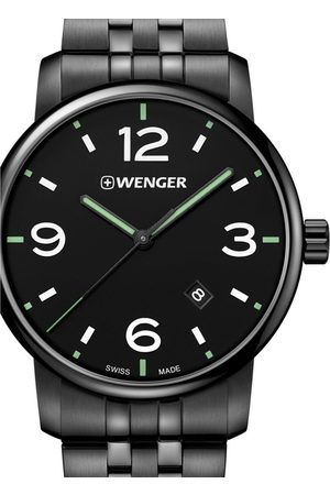 Wenger Reloj analógico 01.1741.119, Quartz, 42mm, 10ATM para hombre
