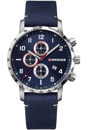 Wenger Reloj analógico 01.1543.109, Quartz, 44mm, 10ATM para hombre