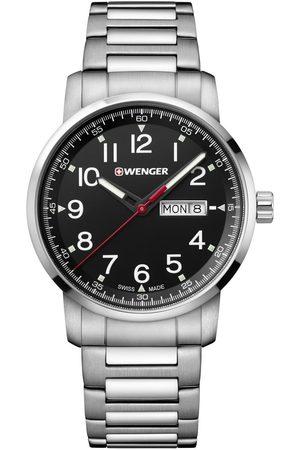 Wenger Reloj analógico 01.1541.107, Quartz, 42mm, 10ATM para hombre