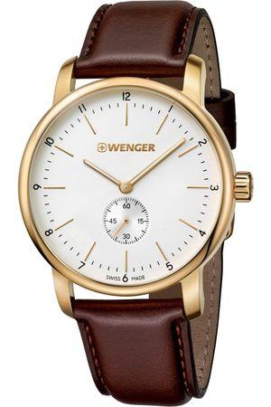 Wenger Reloj analógico 01.1741.124, Quartz, 42mm, 10ATM para hombre