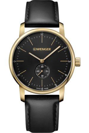 Wenger Reloj analógico 01.1741.101, Quartz, 44mm, 10ATM para hombre