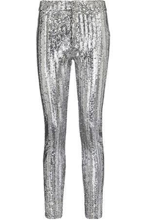 Isabel Marant Pantalones skinny Todiz de lentejuelas