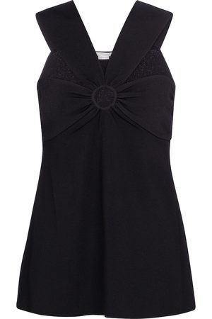 Stella McCartney Top con cuello halter