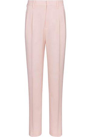 Stella McCartney Pantalones ajustados Julien de lana