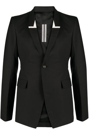 Rick Owens Shawl-lapels single-breasted blazer