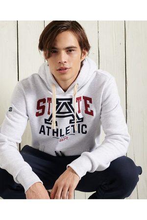 Superdry Hombre Sudaderas - Sudadera sin cierre con capucha Collegiate State