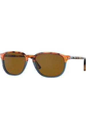 Persol PO3019S 112033 Brown Tortoise Opal Blue