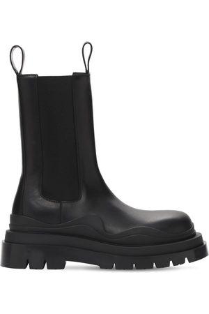 Bottega Veneta | Hombre Bv Tire Leather Chelsea Boots 39