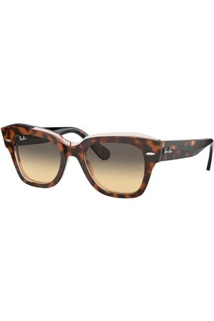 Ray-Ban RB2186 State Street 1324BG Havana ON Transparent Pink