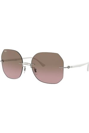 Ray-Ban RB8067 159/14 White ON Grey
