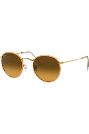 Ray-Ban RB3447JM Round Full Color 91963C Yellow ON Legend Gold