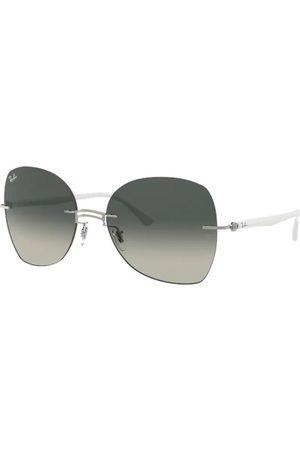 Ray-Ban Gafas de sol - RB8066 003/11 White ON Silver