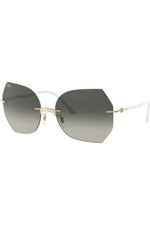 Ray-Ban RB8065 157/11 White ON Gold