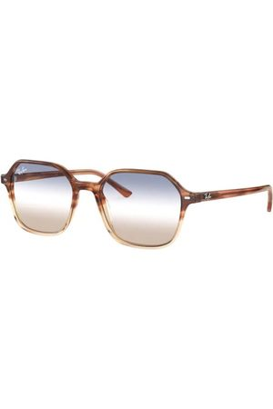 Ray-Ban John RB2194 1328GD Gradient Light Brown Havana