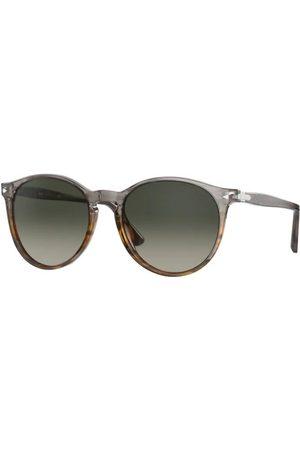 Persol PO3228S 113771 Striped Grey/Gradient Brown
