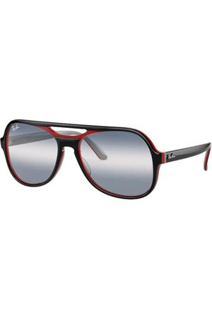 Ray-Ban Gafas de sol - Powderhorn RB4357 6552GA Black RED Blue