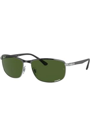 Ray-Ban Gafas de sol - RB3671CH 9144P1 Black ON Silver