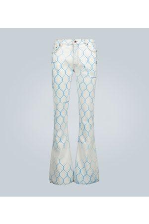 OFF-WHITE Jeans Fence de ajuste skinny