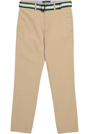 Ralph Lauren Pantalones de algodón elastizado