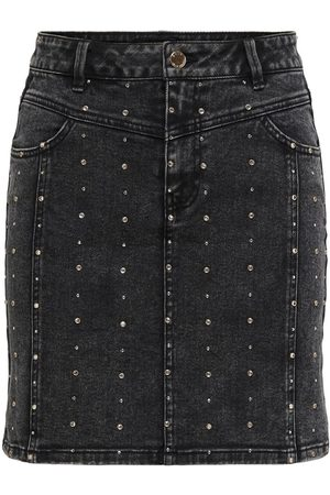 Only Mujer Vaquera - STUD DENIM SKIRT