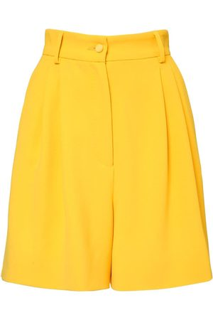 Dolce & Gabbana | Mujer Shorts Bermuda De Viscosa Cady Stretch 36