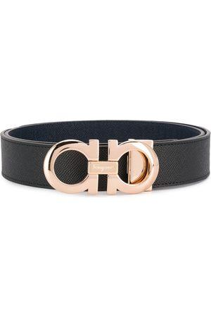 Salvatore Ferragamo Cinturones - Cinturón con hebilla con logo