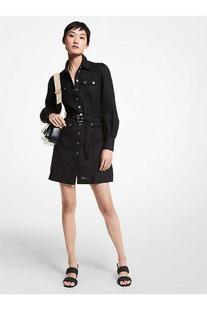 Michael Kors Mujer Vestidos - MKVestido de cáñamo con cinturón - - Michael Kors
