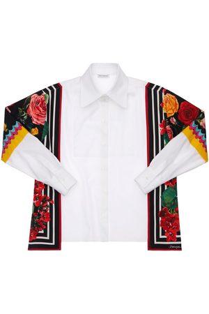 Dolce & Gabbana | Niña Camisa De Popelina De Algodón 8a