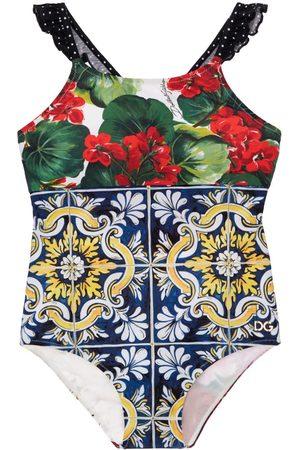 Dolce & Gabbana | Niña Bañador Entero De Lycra Patchwork 8a