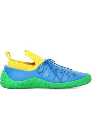 Bottega Veneta | Hombre Sneakers De Punto De Tejido Técnico Y Goma /yellw/grss 40