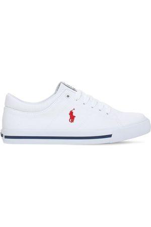 Ralph Lauren | Niño Sneakers De Lona De Algodón Con Cordones 35