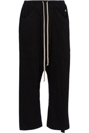Rick Owens Pantalones de chándal cropped