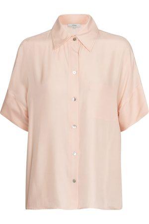 Vince Camisa en mezcla de seda