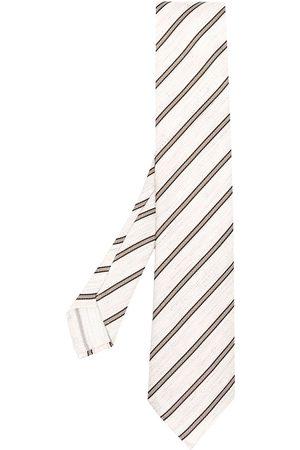 LARDINI Corbata con estampado de rayas