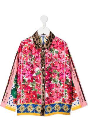 Dolce & Gabbana Niña Estampadas - Camisa con varios estampados