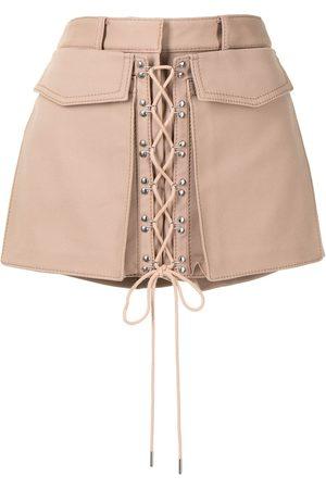 DION LEE Mujer Pantalones cortos - Shorts utility con cordones