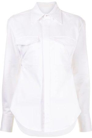 DION LEE Camisa utility con cinturón