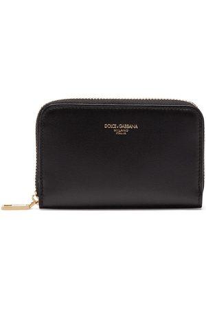 Dolce & Gabbana Cartera con logo y cremallera