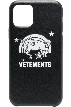 Vetements Móvil - Funda para iPhone 11 Pro con estampado de unicornio