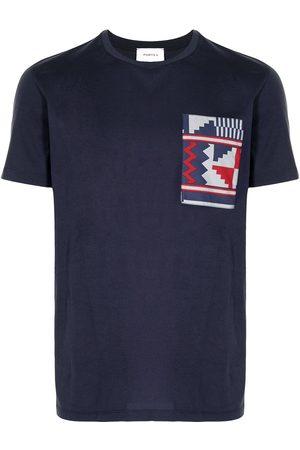 Ports V Camiseta con diseño patchwork