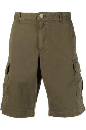 Woolrich Knee-length cotton cargo shorts
