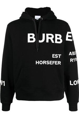 Burberry Hombre Chaqueta de punto - Chaqueta con estampado Horseferry
