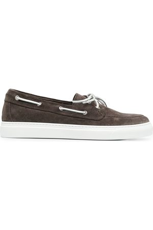 HENDERSON BARACCO Hombre Loafers - Zapatos náuticos con detalle de cordones