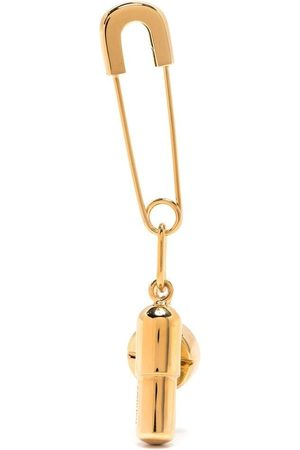 AMBUSH Pendientes - Pill-charm safety-pin earring